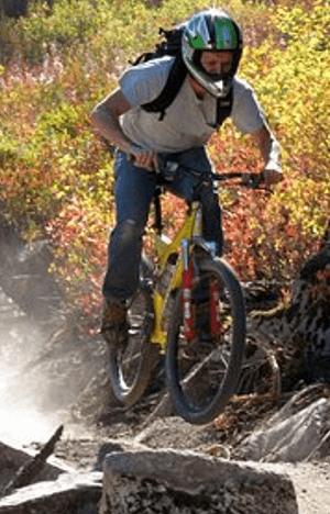 Lightweight Full Face Mountain Bike Helmet