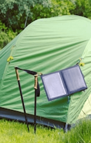 Solar Power Panels for Camping