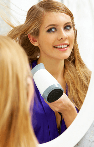 Travel Size Hair Dryer with Diffuser