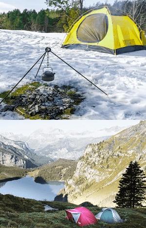 Ultralight Four Season Tent